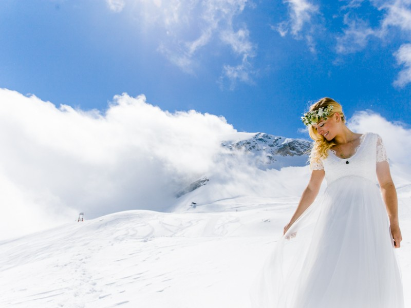 WEDDING-Blue Mountain Styled Shoot Zugspitze