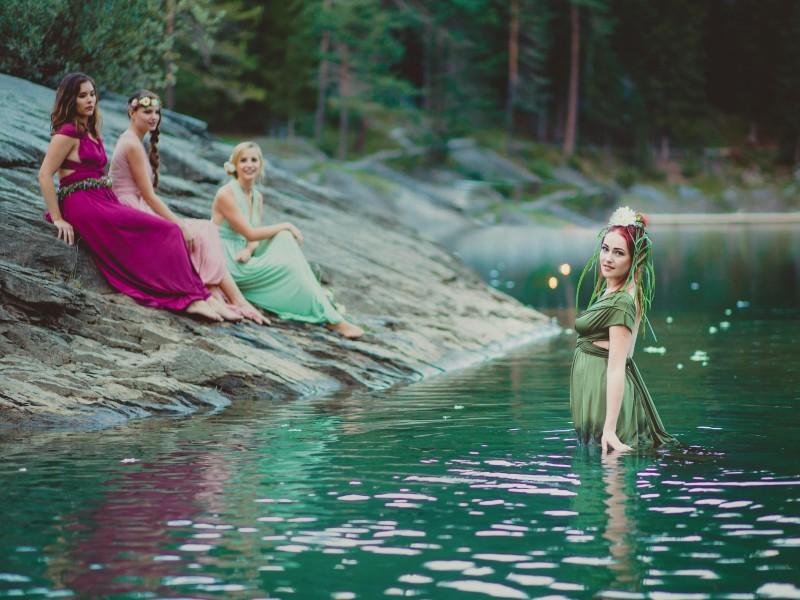 Wedding- Nymphenhochzeit Caumasee