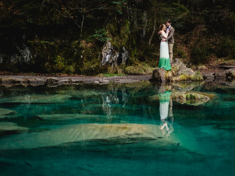 Forest Love Blausee Schweiz – WEDDING