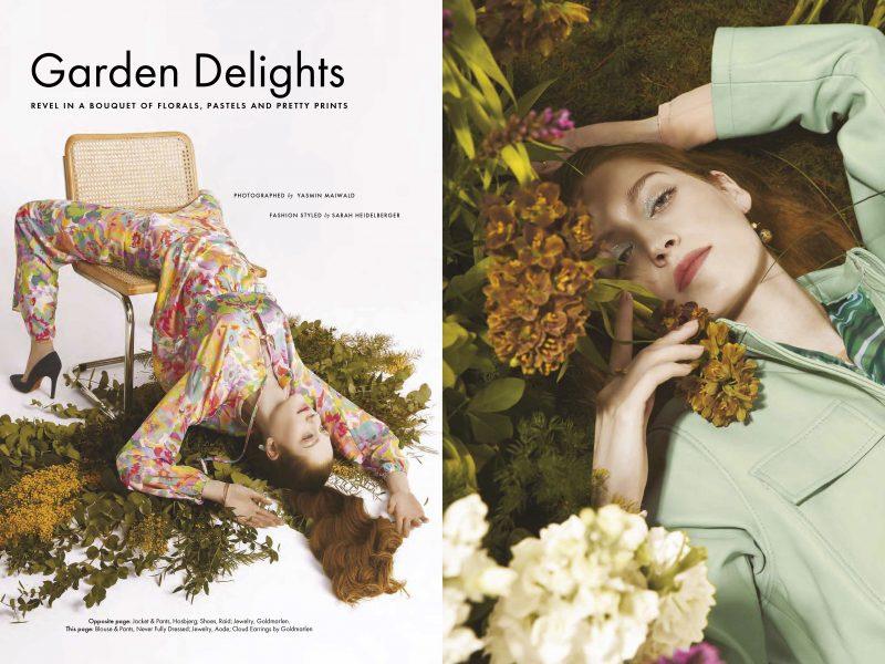 ELLE ARABIA Editorial Garden delights